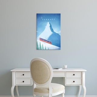 Easy Art Prints Henry Rivers's 'Zermatt' Premium Canvas Art