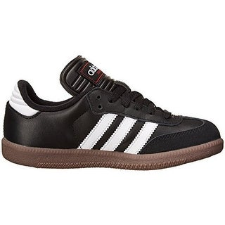 adidas Samba Classic Leather Soccer Shoe (Toddler/Little Kid/Big Kid)