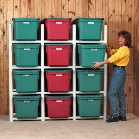 Albern Enterprises Inc. Bin Warehouse 12 Tote Storage System