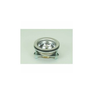 """Proflo PF646443 Kitchen Sink Drain Assembly and Basket Strainer - Fits Standard 3-1/2"""" Drain Connections"""