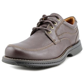 Rockport Classics Revised Moc Toe Men Round Toe Leather Brown Oxford