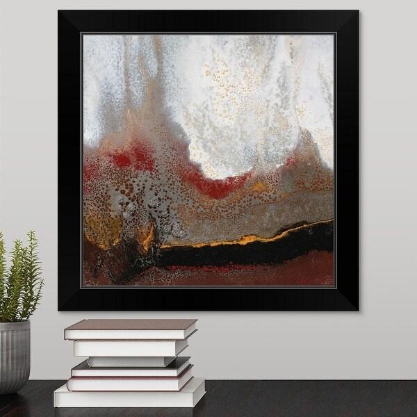 Jay Zinn Economy Framed Print with Standard Black Frame entitled Copper Ridge