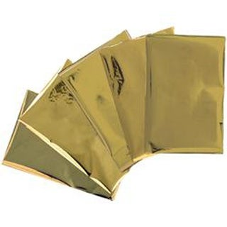 "Heatwave Foil Sheets 4""X6"" 30/Pkg-Gold"