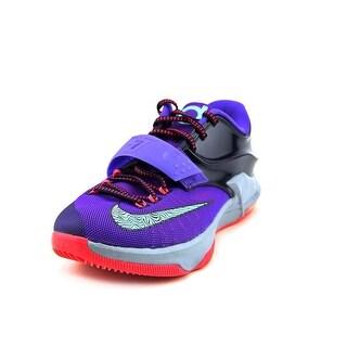 Nike KD VII Men Round Toe Synthetic Purple Basketball Shoe
