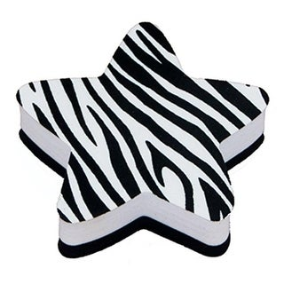 Magnetic Whiteboard Star Zebra Erasers