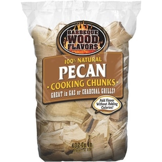 Barbeque Wood Flavor Pecan Wood Chunks