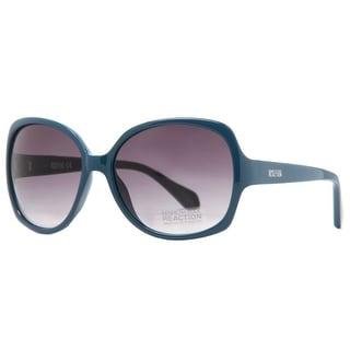 KENNETH COLE Round KC2724 Women's KC2724 92B Blue Green Blue Green Gray Sunglasses - 59mm-16mm-135mm