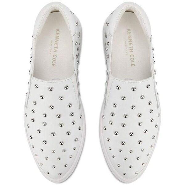 Mara Stud Pointed Toe Slip on Sneaker