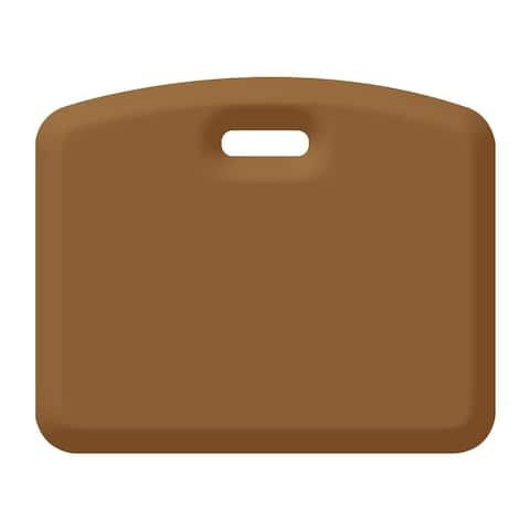 WellnessMats Anti-Fatigue Kitchen/Gardening Companion Mat, 18 Inch by 22 Inch, Tan