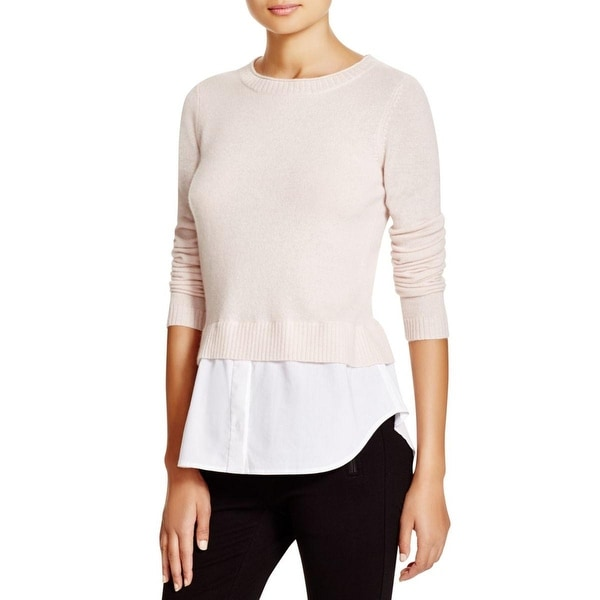Private Label Womens Pullover Sweater Cashmere Layered