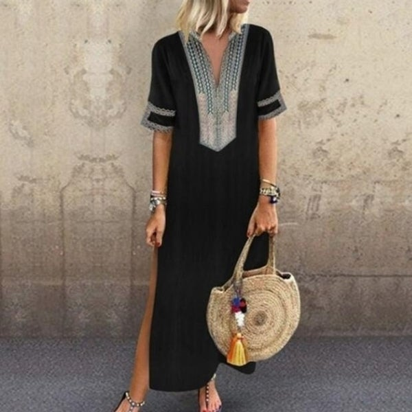 Crochet Embroidered Maxi Dresses. Opens flyout.