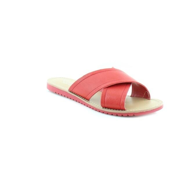 Franco Sarto Quentin Women's Sandals & Flip Flops Red