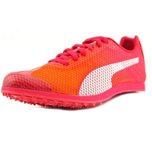 47444b4937d01 Puma Evo Speed Star V4 Track Cleats Women Round Toe Synthetic Pink Cleats