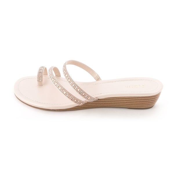 Style & Co. Womens Hayleigh Open Toe Casual Slide Sandals