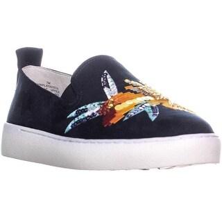 Nine West Playavista Slip On Sneakers, Navy/Navy - 7 us