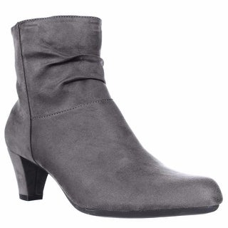 Aerosoles Shore Fit Ankle Boots - Grey