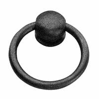 Cabinet Ring Pulls Mission Black Wrought Iron   Renovator's Supply