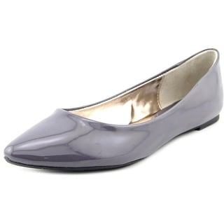 Steve Madden Ibiza Women  Round Toe Synthetic Gray Flats