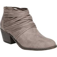 Fergalicious Women's Barley Bootie Doe Oiled Fabric