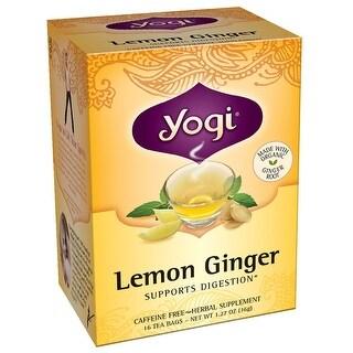 Yogi Tea Herbal Teas Lemon Ginger 16 tea bags