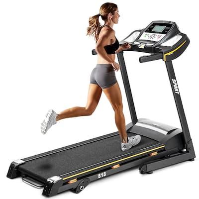 Folding Electric Treadmill Motorized Running Machine