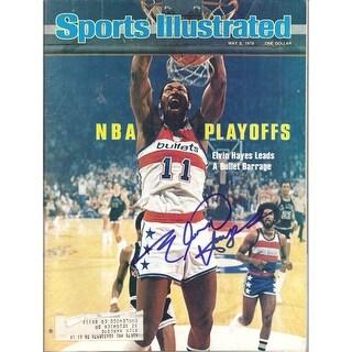 Elvin Hayes Autographed May 8 1978 Sports Illustrated Washington Bullets