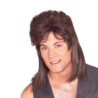Brown Mullet Wig Halloween Costume and Accessories
