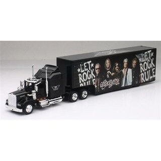 New-Ray NEWSS-15643 Aerosmith - Kenworth W900 Sleeper Cab Model Truck