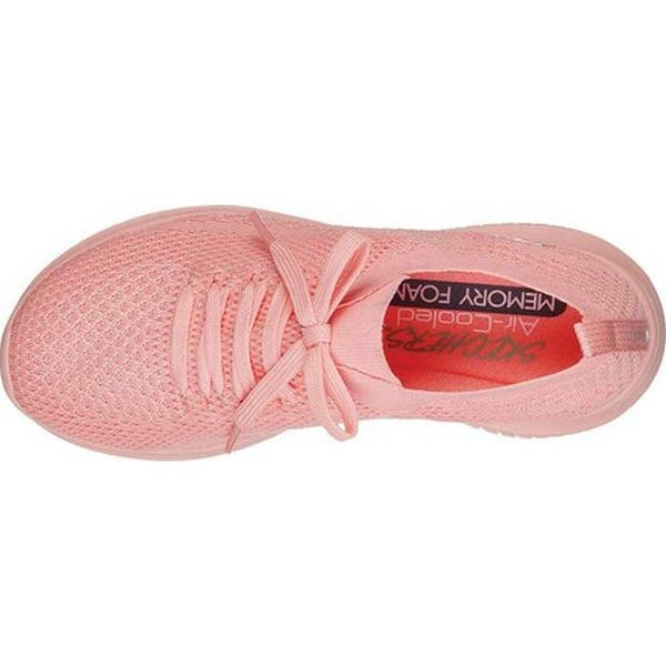 Sesión plenaria radiador Subtropical  Skechers Women's Ultra Flex Pastel Party Sneaker Coral - Overstock -  25644712