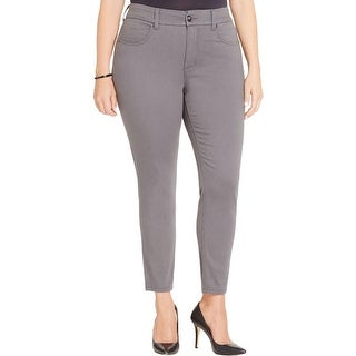Seven7 Womens Plus Pencil Jeans Slimming Stretch