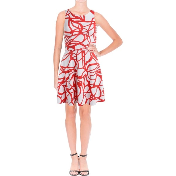 Aqua Womens Sundress Printed Daytime