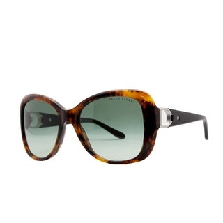 Ralph Lauren RL 8108 78E Havana Butterfly Sunglasses