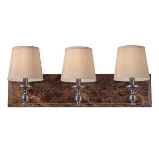 Murray Feiss VS34003-PORB Carrollton 3 Light Vanity, Plated Oil Rubbed Bronze - Oil Rubbed Bronze