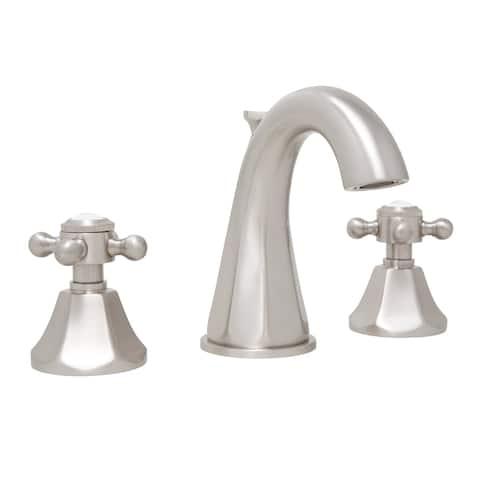 Mirabelle MIRWSCBR801 Boca Raton 1.2 GPM Widespread Bathroom Faucet with Cross Handles -