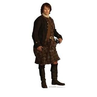 75 x 30 in. Jamie Fraser Scottish Version - Outlander Cardboard
