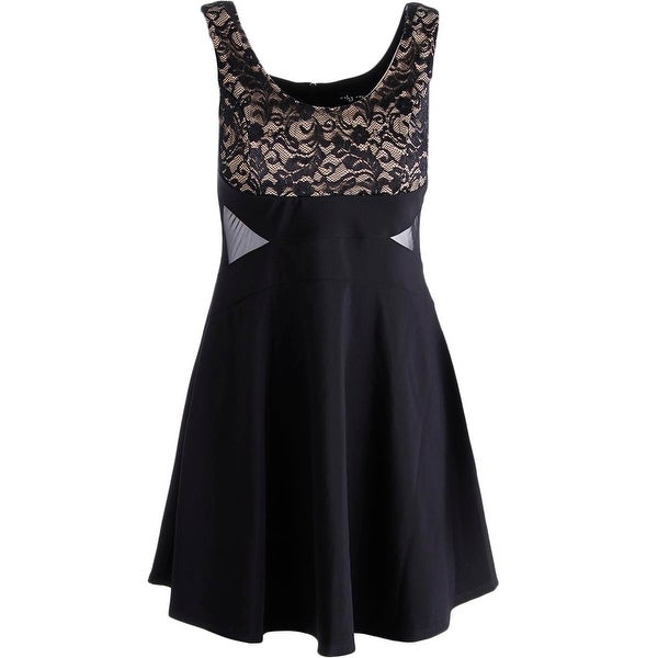 Ruby Rox Womens Juniors Party Dress Sleeveless A Line