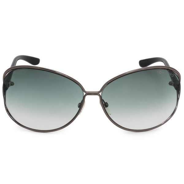 4dd7e8d5222d1 Shop Tom Ford Clemence Butterfly Sunglasses FT0158 08B 65 - Free ...