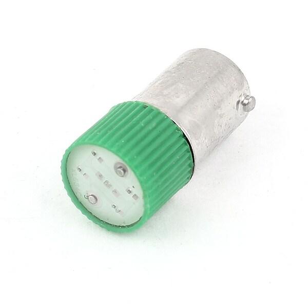 Industrial 10mm Head Green LED Pilot Lamp Indicator Signal Light AC 220V/240V 3A