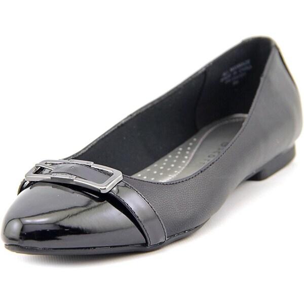 Karen Scott Cadyy Women Pointed Toe Synthetic Black Flats