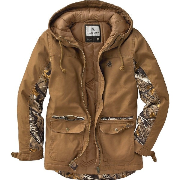 Legendary Whitetails Women's Gravel Road Charcoal Workwear Jacket