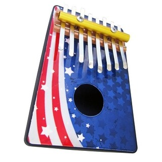 Schoenhut American Flag 8 Note Thumb Piano