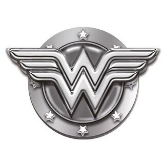 """Wonder Woman Logo 1"""" Pewter Lapel Pin"""