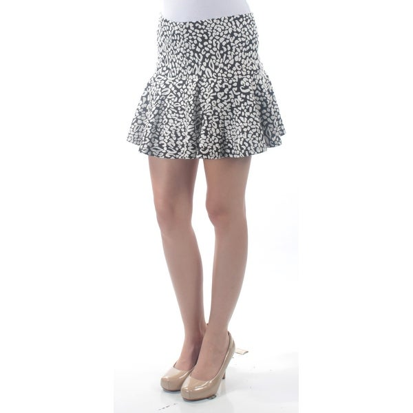 808278133b Shop GUESS Womens Black Animal Print Mini Drop Waist Skirt Size  2 - On  Sale - Free Shipping On Orders Over  45 - Overstock - 22644776