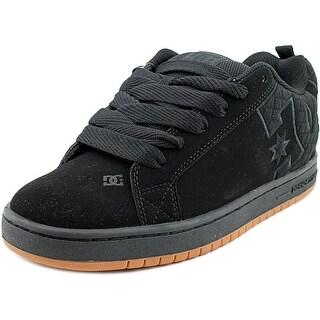 DC Shoes Court Graffik SE Men Round Toe Leather Skate Shoe