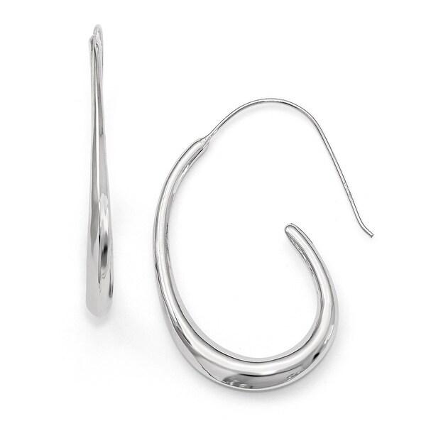 Italian Sterling Silver Polished Earrings