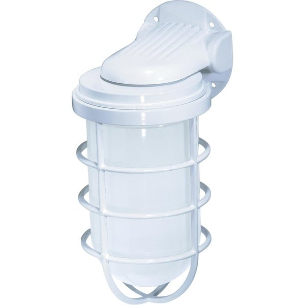 """Nuvo Lighting 76/617 1-Light 11"""" Tall Outdoor Wall Sconce - White - n/a"""
