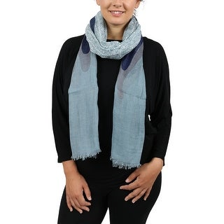 Moschino SCR11236/3 Blue Blazing Flame Scarf - 37-77