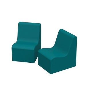 28 x 18 x 19 in. SoftZone Wave Toddler Chair, Pack of 2 -