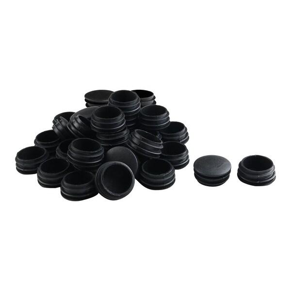 """1 1/2"""" 38mm OD Plastic Round Tube Insert Protector 34pcs, 1.38""""-1.46"""" Inner Dia"""