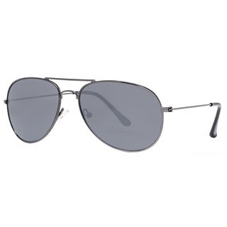 Kenneth Cole Reaction KC1248 5908C Men's Gunmetal Smoke Black Aviator Sunglasses - 59mm-15mm-140mm